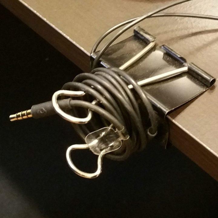 DIY Office Hacks - Cord Wrap
