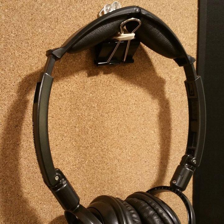 DIY Office Hacks - Headphone Holder