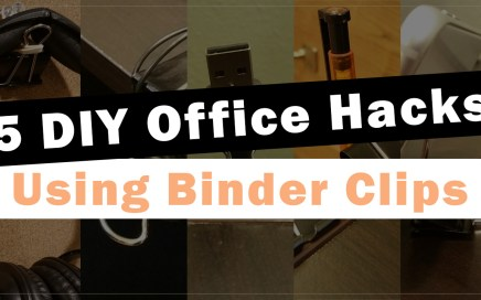 Office Hacks Binder Clips Header
