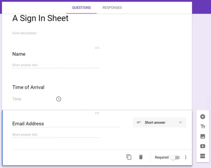 digital signin sheets with google forms digital egghead