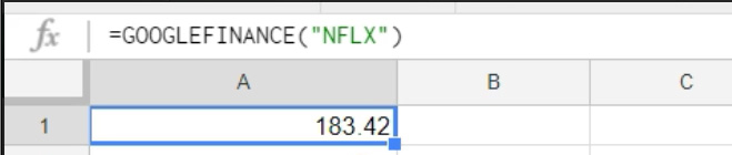 Google-Sheets-Financial-Data-04-Ticker-Result
