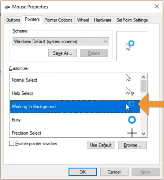 Windows Mouse Arrow Spinning Blue Circle Fix - Digital Egghead