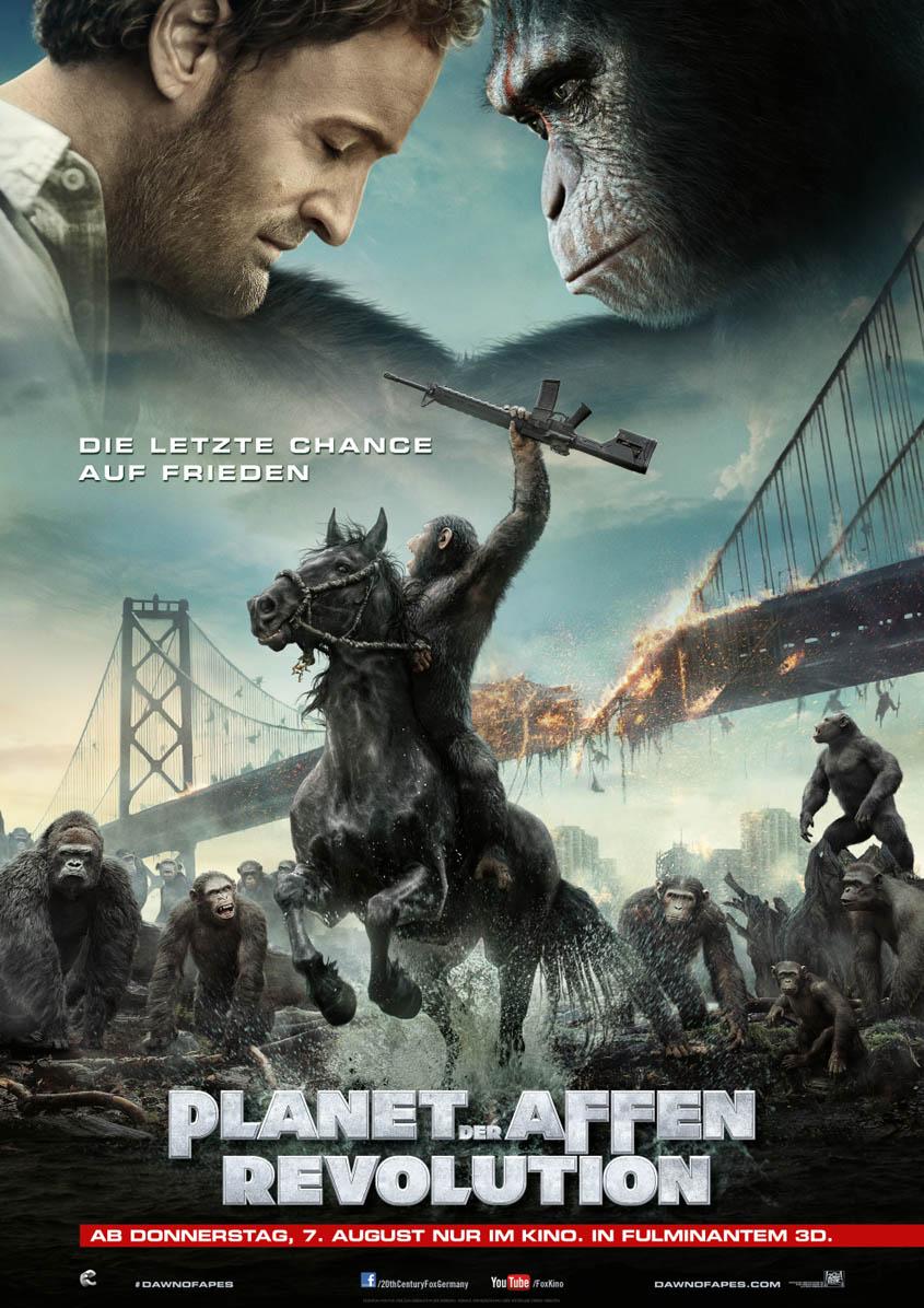 Planet der Affen 2 - Revolution - Plakat