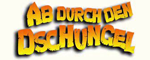 Ab durch den Dschungel 3D-Logo
