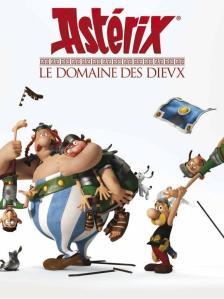 Asterix im Land der Götter -Teaserplakat