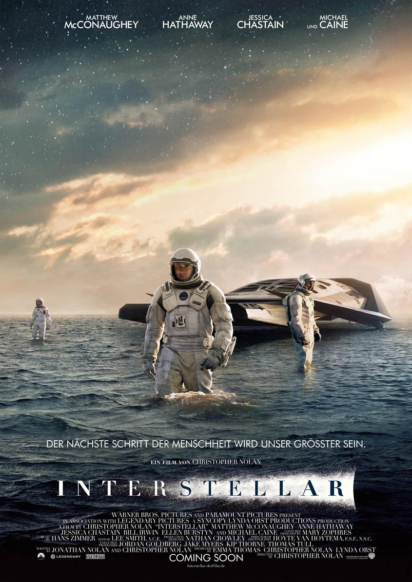 Interstellar -Hauptplakat