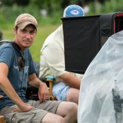 Maze Runner - Regisseur Wes Ball während der Dreharbeiten