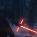 The Dark Knight mit seinem Laserschwert im neuen Design