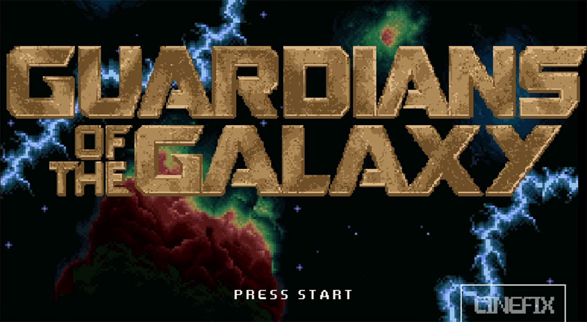 Guardians of the Galaxy 8bit