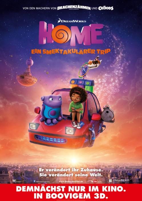Home - Ein smektakulärer Trip - Plakat