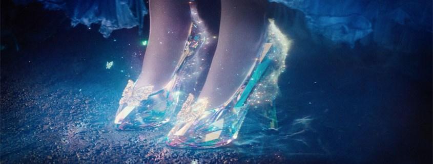 Cinderella Kristall-Schuhe