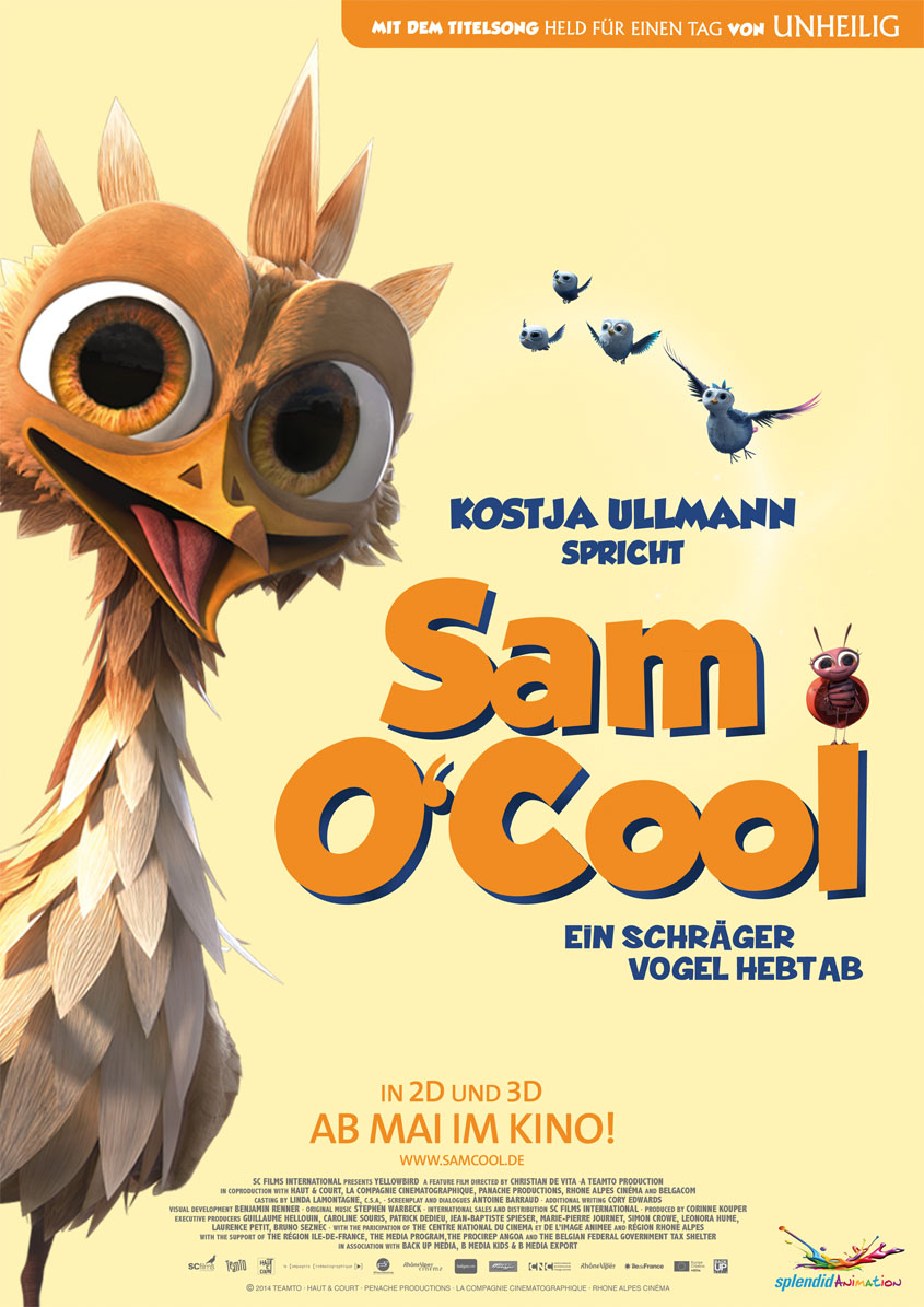 Sam O Cool - Plakat