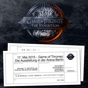 Game Of Thrones Ausstellung Verlosung