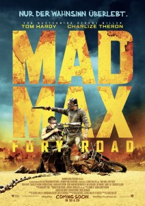 Mad Max: Fury Road- Plakat