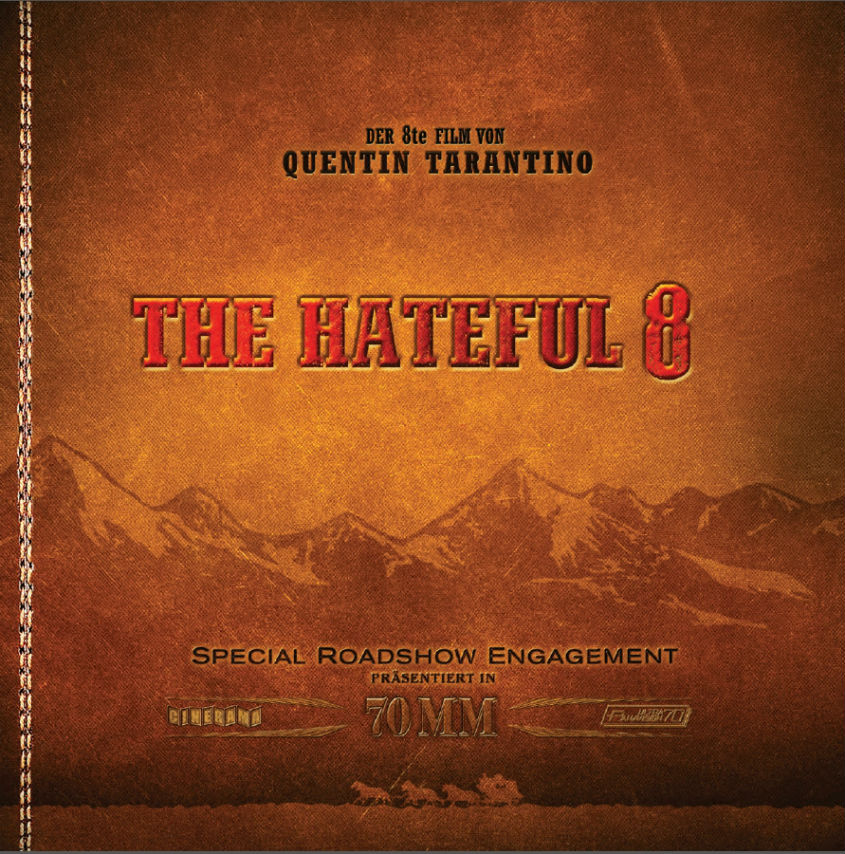 Cover The Hateful 8 - Roadshow Booklet