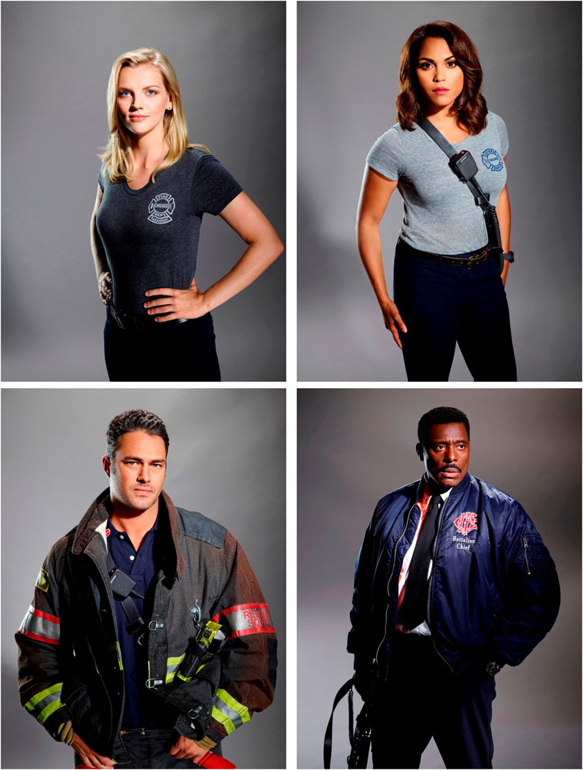 Cast CHICAGO FIRE