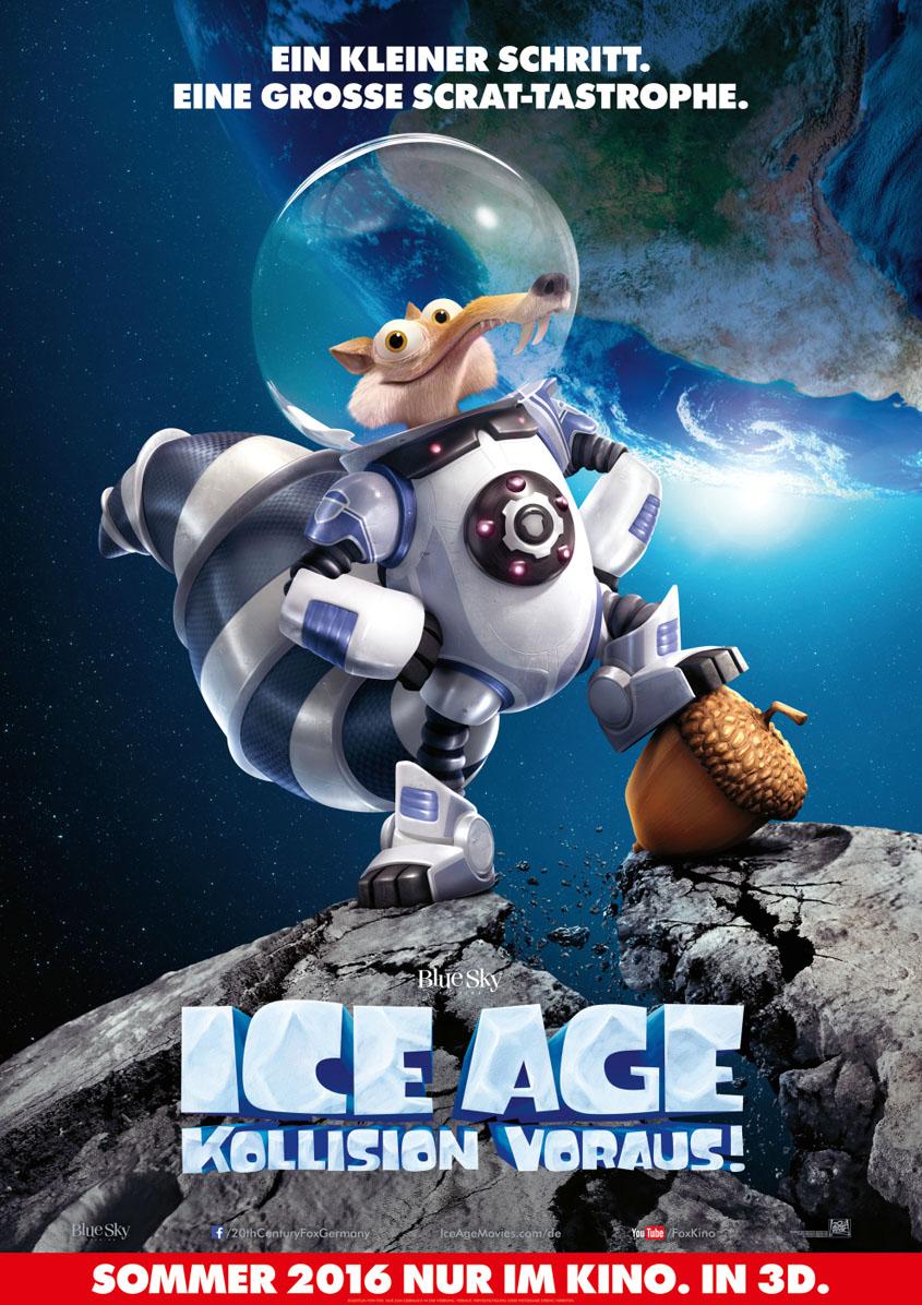 Ice Age- Kollision voraus - Plakat