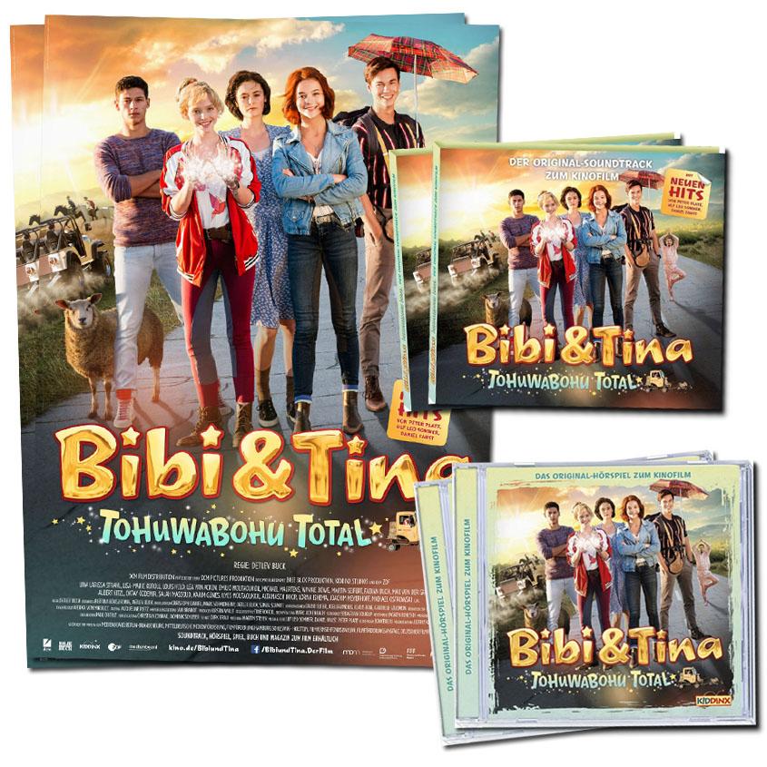 Gewinne Bibi und Tina- Tohuwabohu total