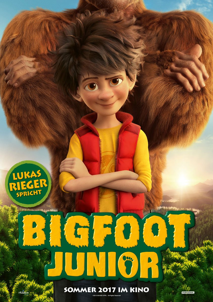 Bigfoot Junior - Plakat