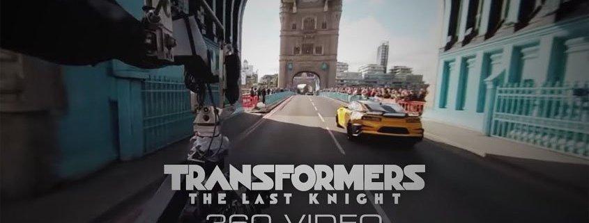 Transformers The Last Knight 360 Video