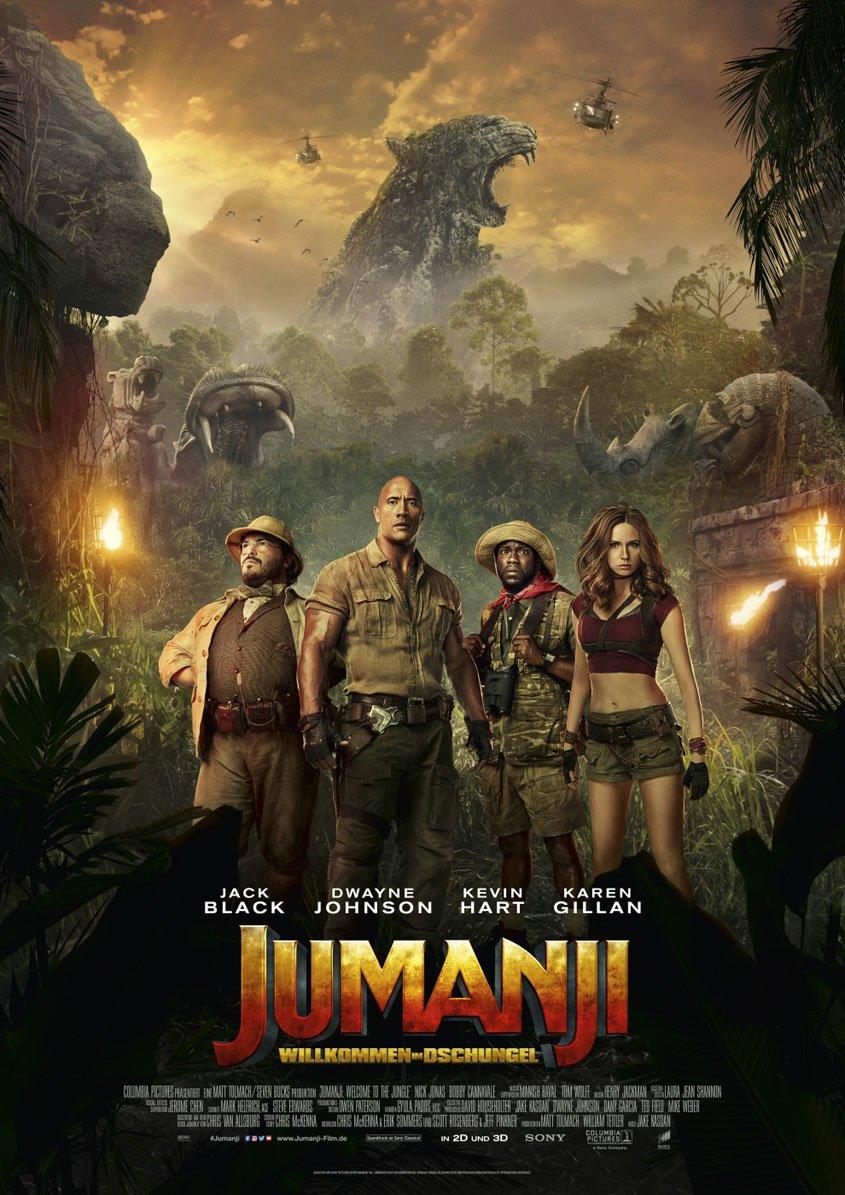Jumanji - 3D- Plakat
