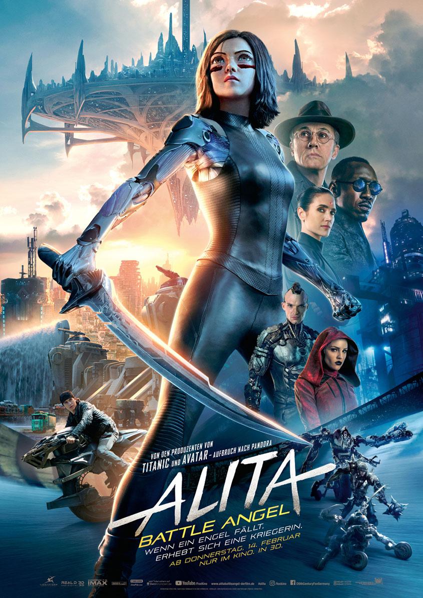 Alita Battle Angel- Plakat