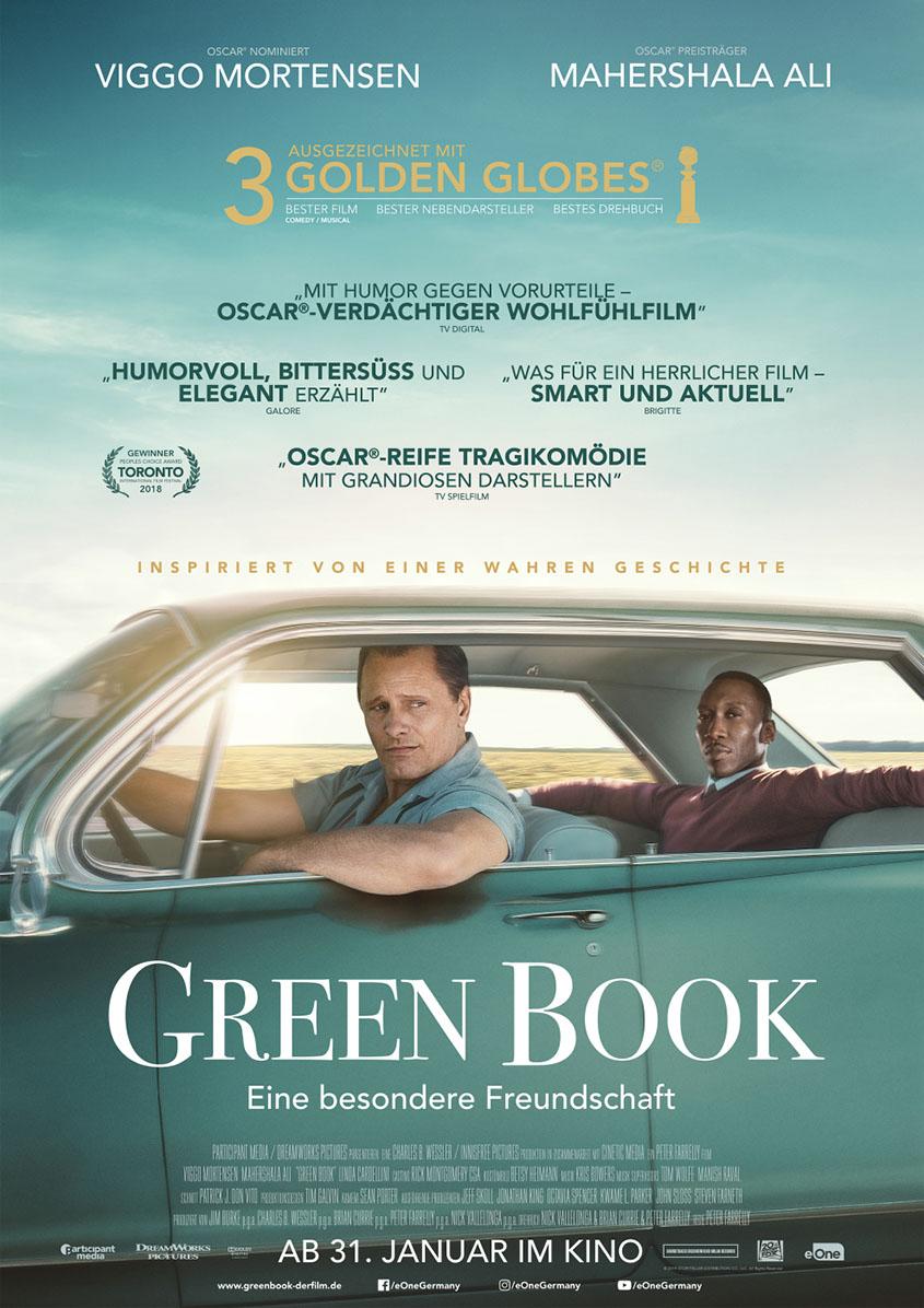 Green Book-Plakat