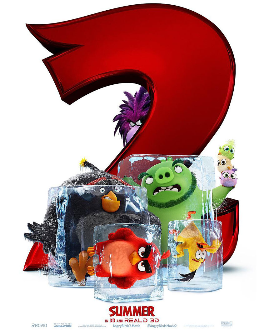 Angry Birds 2 - Plakat