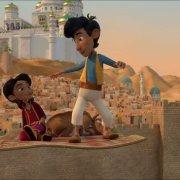 Kleiner Aladin und der Zauberteppich- Szenenbild