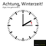 Zeitumstellung Winterzeit