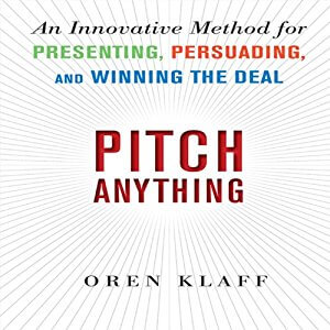 Pitch Anything Audiobook Cover