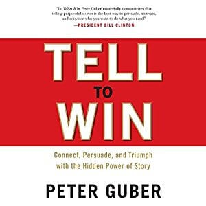 Tell To Win Audiobook Cover