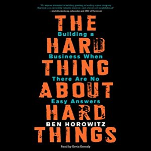 Hard Things Audiobook Cover