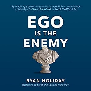 Ego is the enemy Audiobook Cover