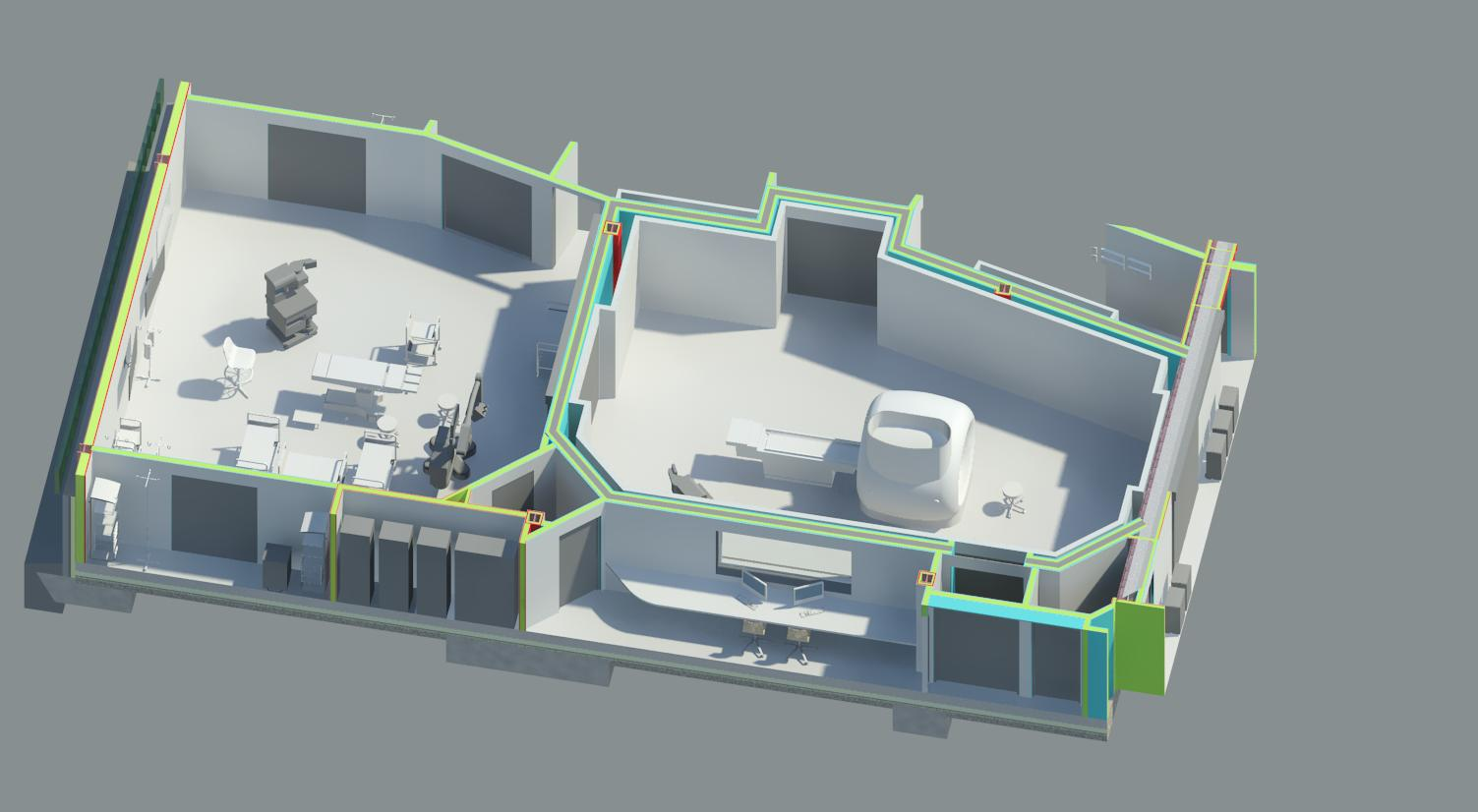Walton Health Centre - Internal Render