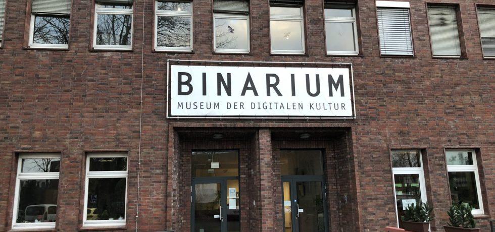 Haupteingang des Binariums in Dortmund