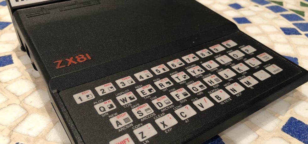Memotech 16kB RAM an einem Sinclair ZX81