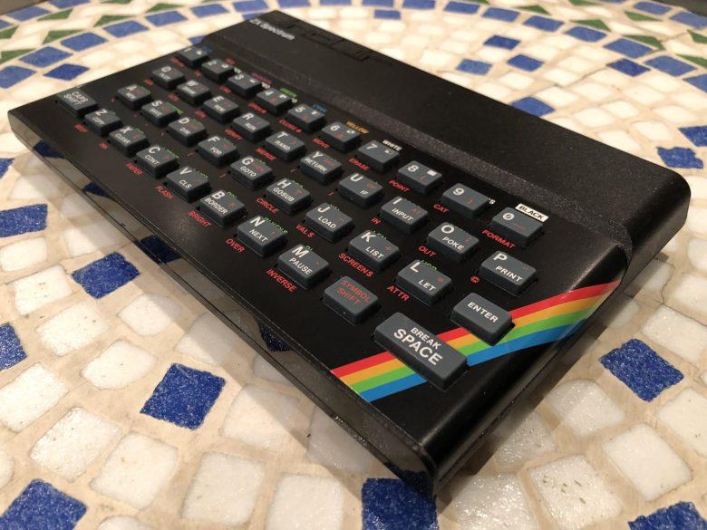 Das Original - der Sinclair ZX Spectrum