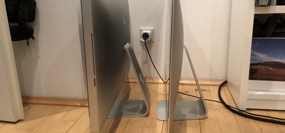 iMac 2011 neben iMac 2017