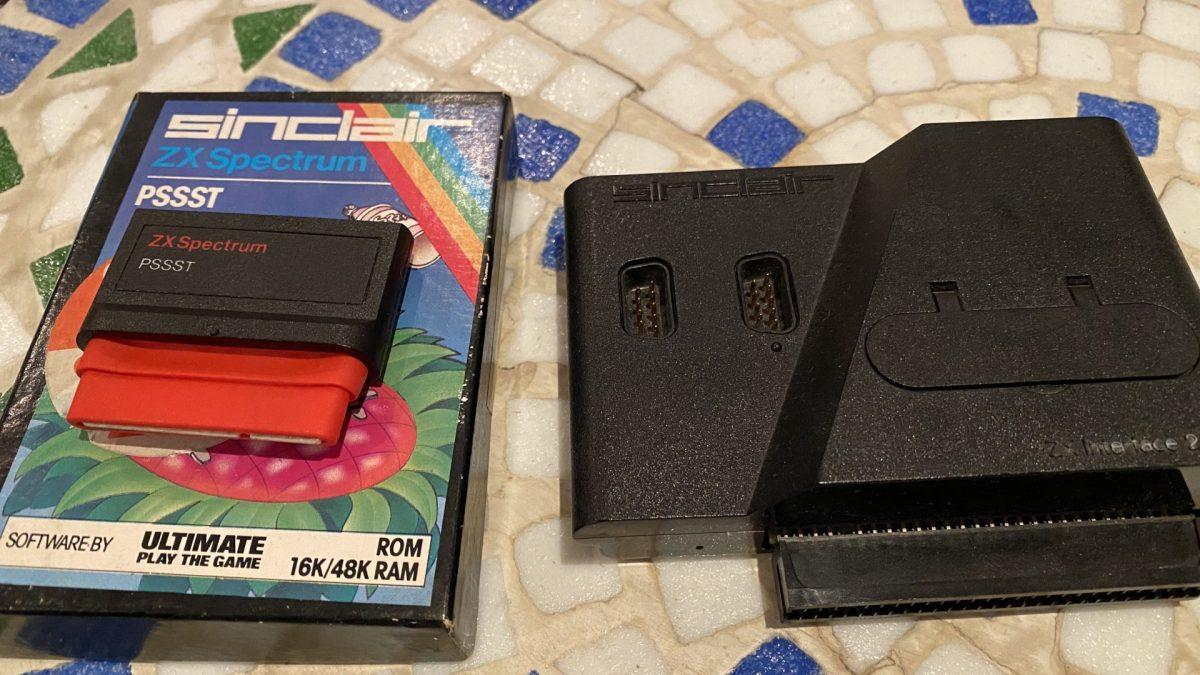 Sinclair Spielmodul PSSST
