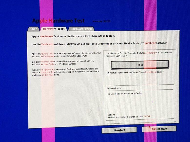Mein iMac mit defekter Grafikkarte