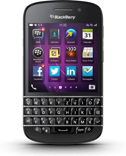 Das BlackBerry Q10. Story vom Abstieg eines Kultprodukts