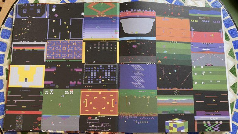 Screenshots von Atari VCS Videospielen.