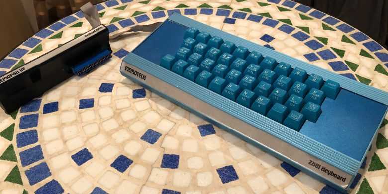 Memotech Zusatztastatur für den Sinclair ZX81