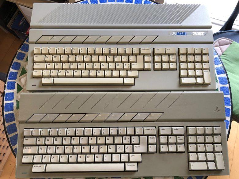 Der Atari Mega ST hatte die bessere Tastatur. Entwicklung der Computertastaturen