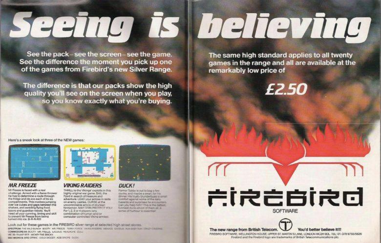 Werbung aus der Your Computer (12/1984) zu britischer Software
