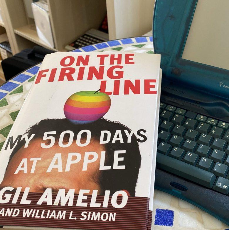 Buch von Gil Amelio über seine Zeit bei Apple. Apple Probleme und Lösungen