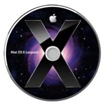 Sinnbild für Mac OS X 10.5 Leopard