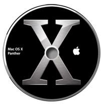 Sinnbild für Mac OS X 10.3 Panther