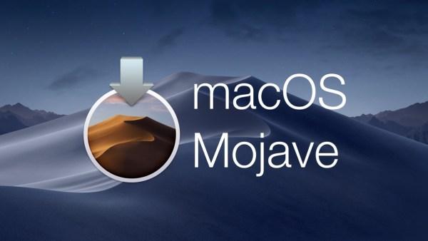 Sinnbild für macOS 10.14 Mojave